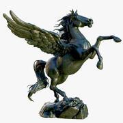 Pegasus standbeeld 3d model