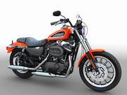 Harley Davidson Sportster Roadster 3d model