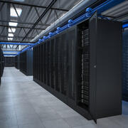 Server Room Data Center 3d model