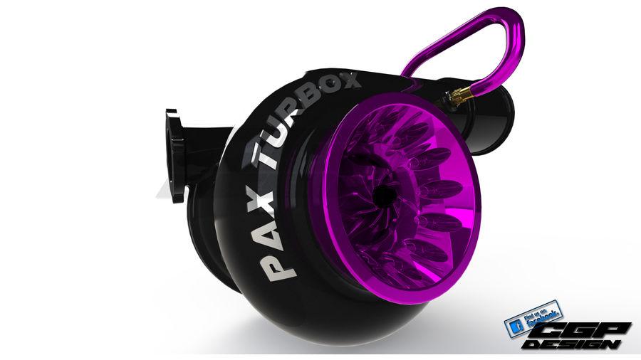 涡轮增压器先进的设计 royalty-free 3d model - Preview no. 1