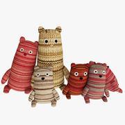 Bambini realistici Teddy Bears 3d model