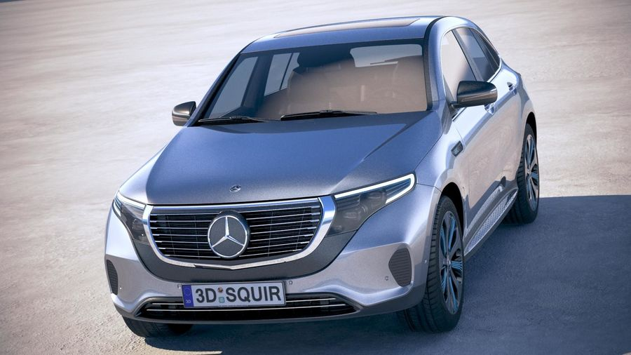 Mercedes Benz EQC 400 1:87 designo hyazinthrot Herpa
