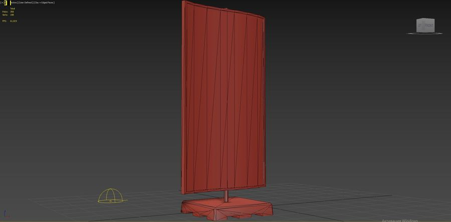 Znak uliczny 09 royalty-free 3d model - Preview no. 7