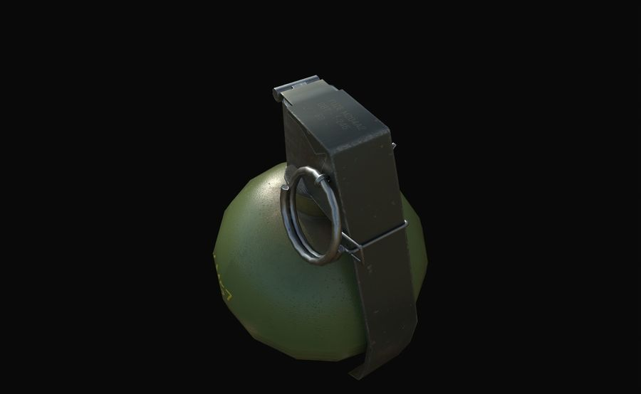 Des grenades royalty-free 3d model - Preview no. 15