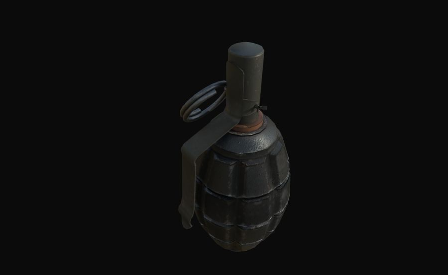 Des grenades royalty-free 3d model - Preview no. 20