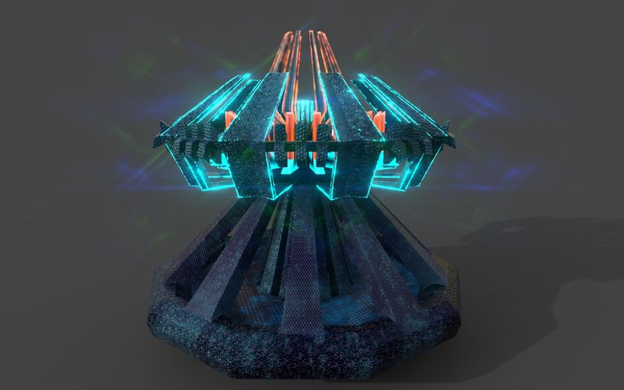 Reactor royalty-free 3d model - Preview no. 15