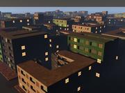 Einfache Stadt 3d model