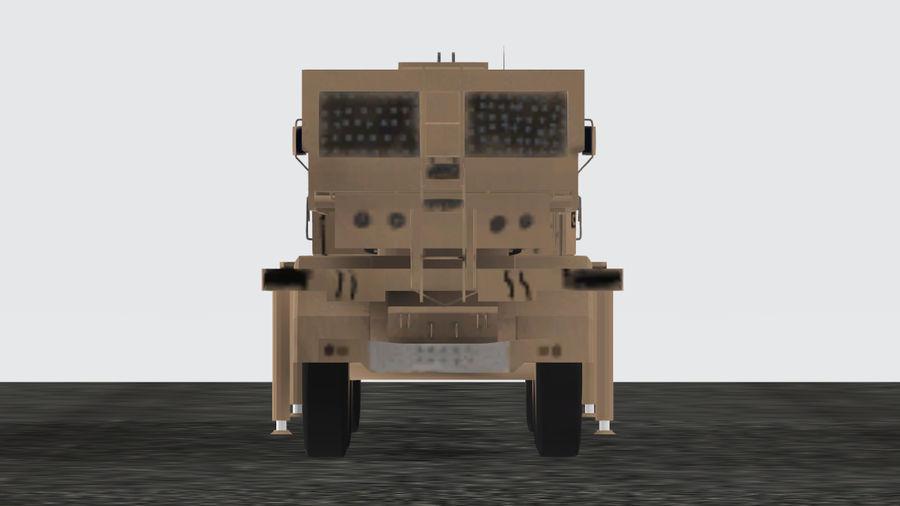Avibras Astros II MLRS Irak royalty-free 3d model - Preview no. 2