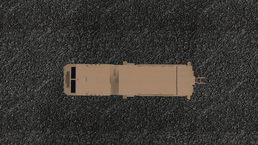 Avibras Astros II MLRS Irak royalty-free 3d model - Preview no. 5