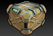 科幻箱子 3d model