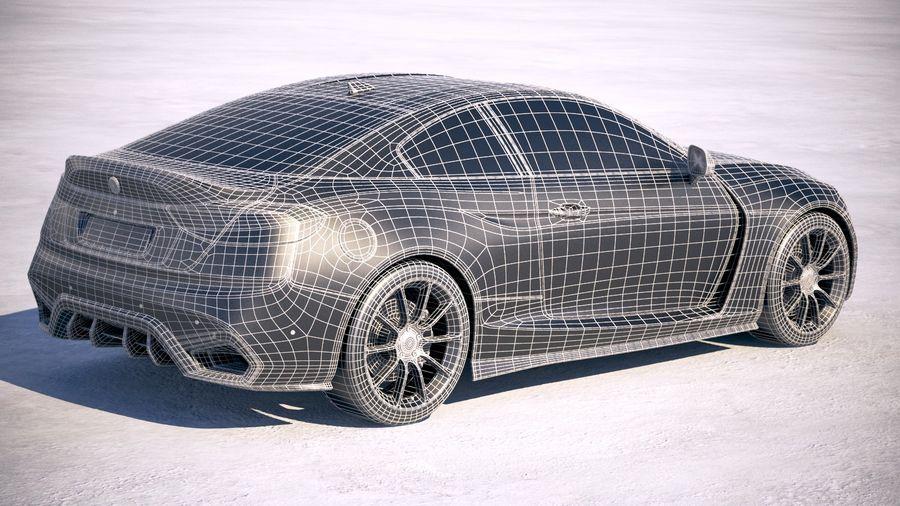 Дженерик Купе 2019 royalty-free 3d model - Preview no. 30