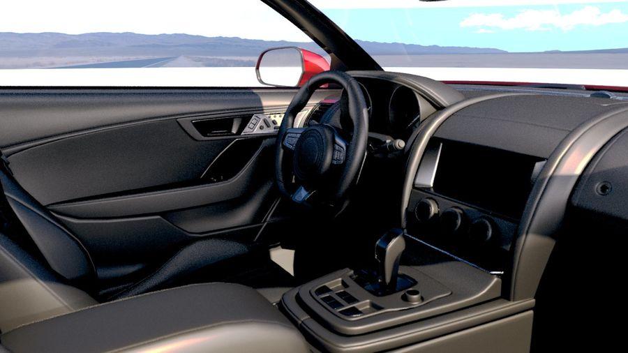 Дженерик Купе 2019 royalty-free 3d model - Preview no. 18