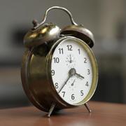 古い目覚まし時計 3d model