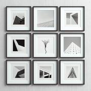 Picture Frames Set -69 3d model