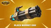 Gatling Gun - Low Poly 3d model