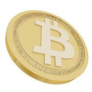 ビットコインゴールドコイン 3d model