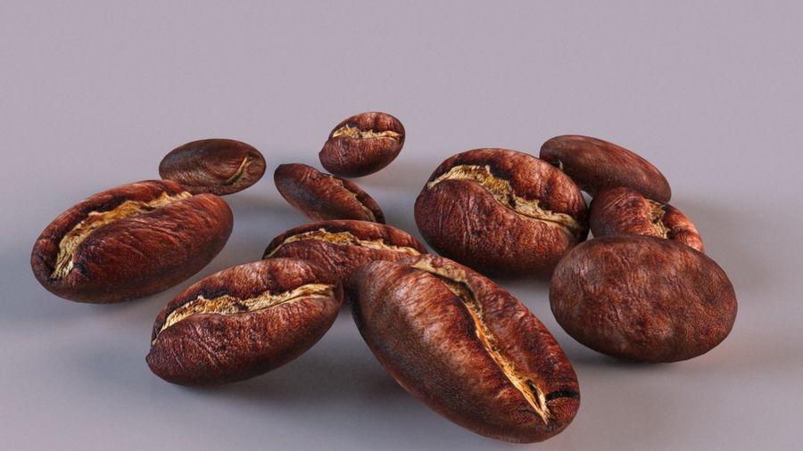Grain de café royalty-free 3d model - Preview no. 1