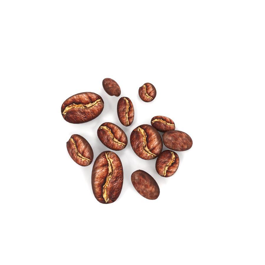 Grain de café royalty-free 3d model - Preview no. 4