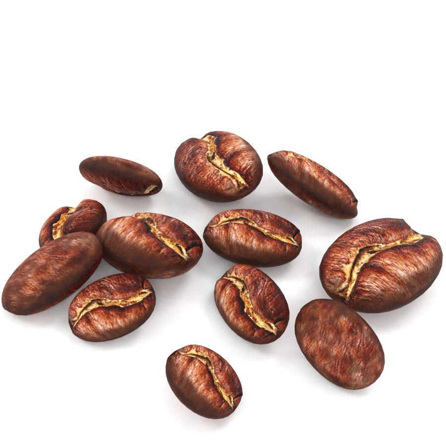 Grain de café royalty-free 3d model - Preview no. 3