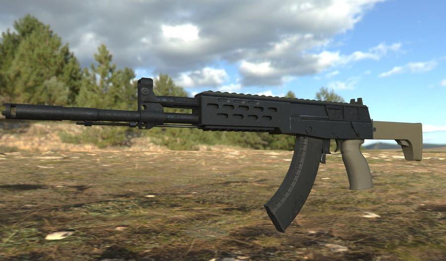 AK - 12 royalty-free 3d model - Preview no. 3