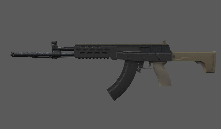 AK - 12 royalty-free 3d model - Preview no. 5