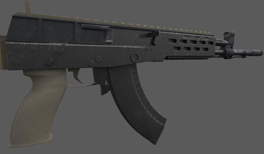 AK - 12 royalty-free 3d model - Preview no. 7
