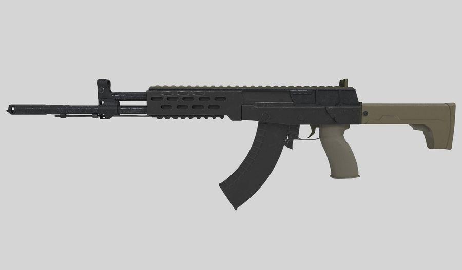 AK - 12 royalty-free 3d model - Preview no. 1