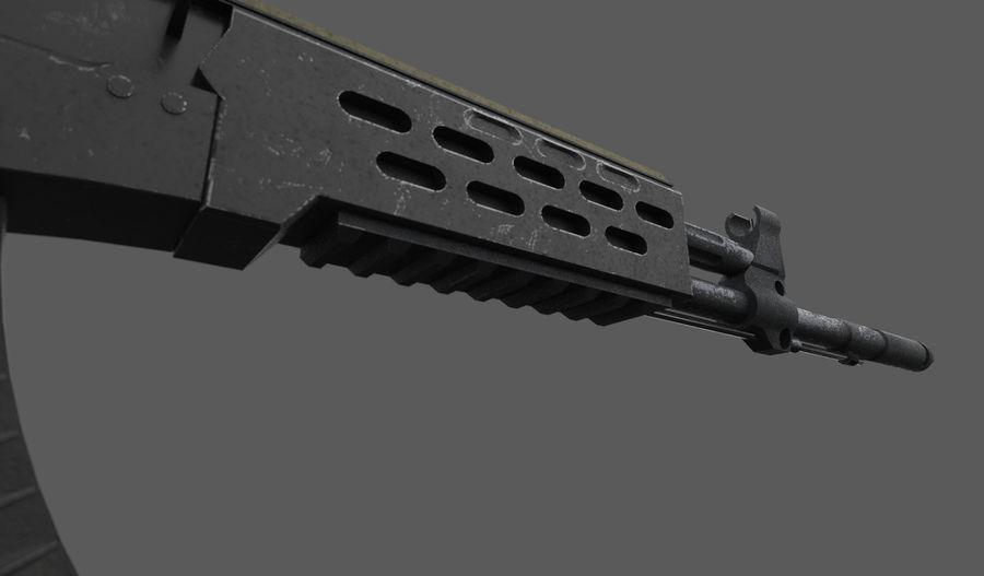AK - 12 royalty-free 3d model - Preview no. 9