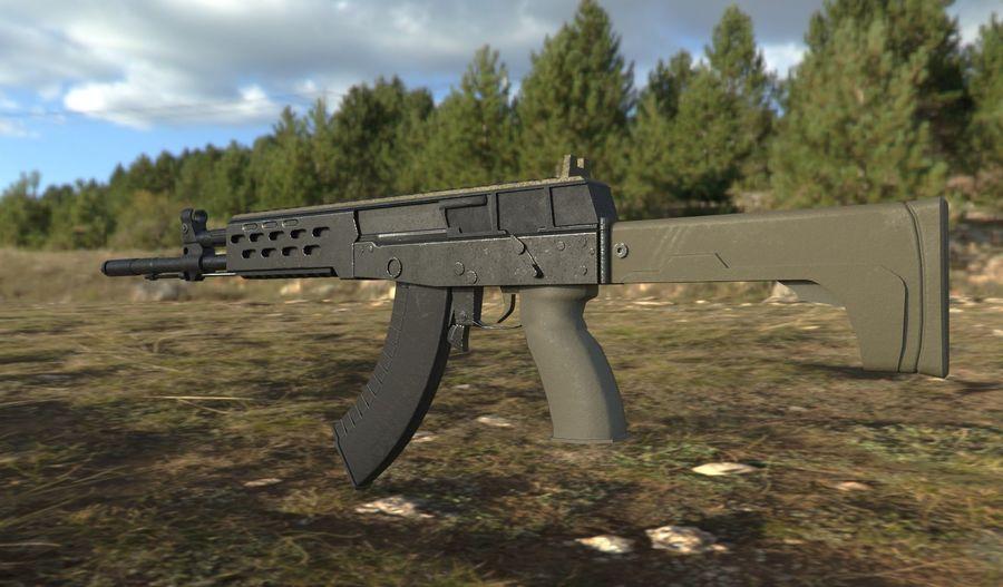 AK - 12 royalty-free 3d model - Preview no. 4