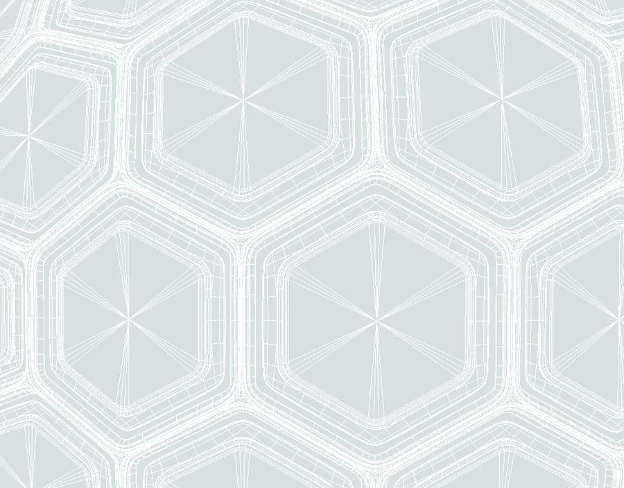 Научно-фантастическая Гекса Сфера (1) royalty-free 3d model - Preview no. 6