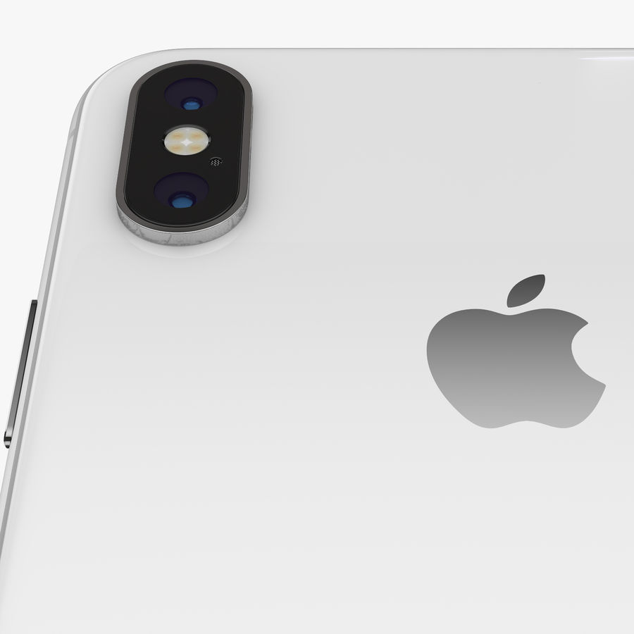 Apple iPhone Xs and Xs Max (all colours) royalty-free 3d model - Preview no. 21
