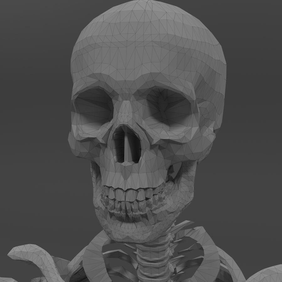 Szkielet człowieka royalty-free 3d model - Preview no. 20