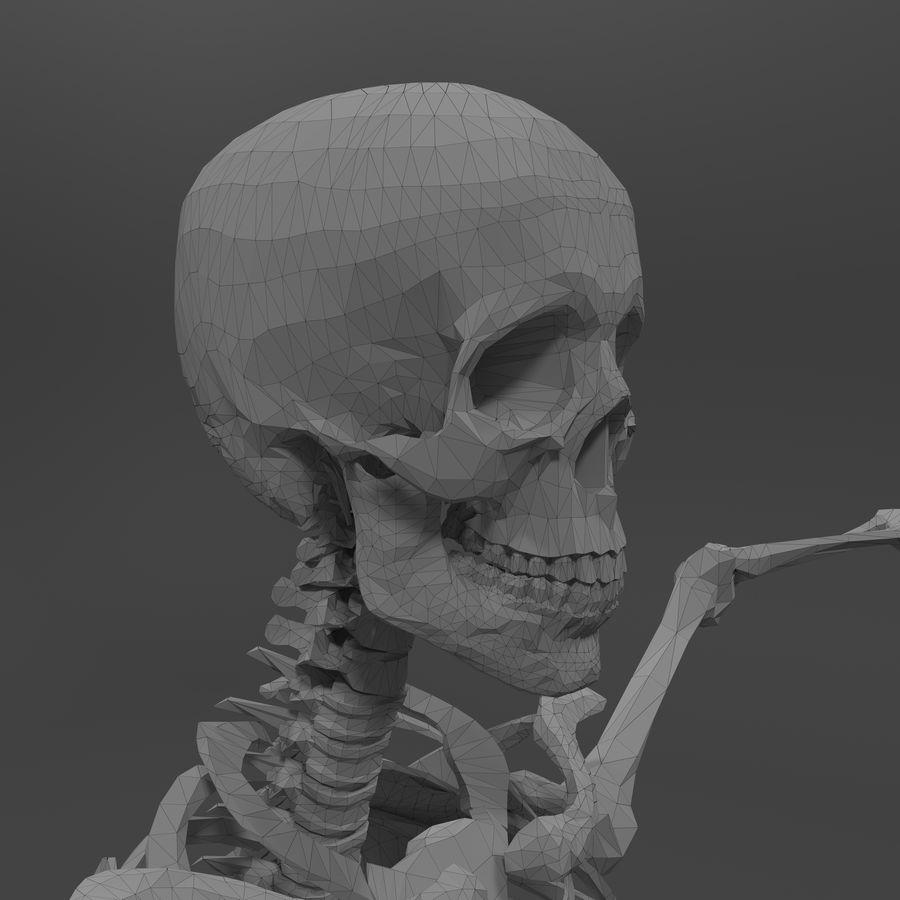 Szkielet człowieka royalty-free 3d model - Preview no. 19