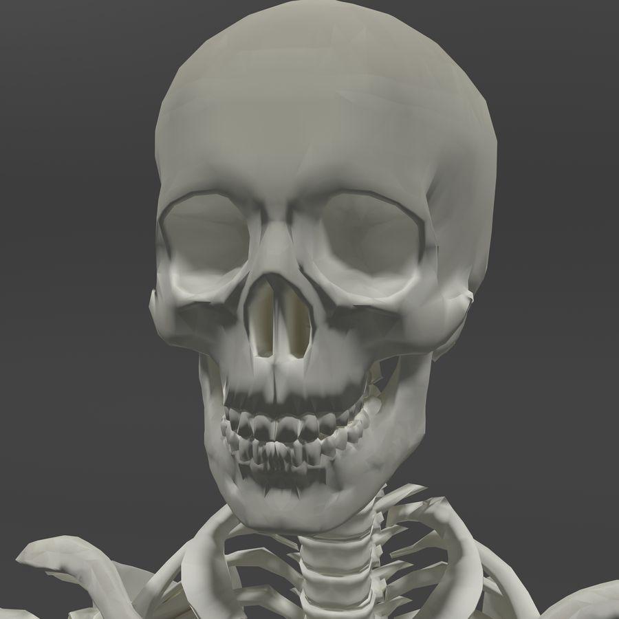 Szkielet człowieka royalty-free 3d model - Preview no. 7