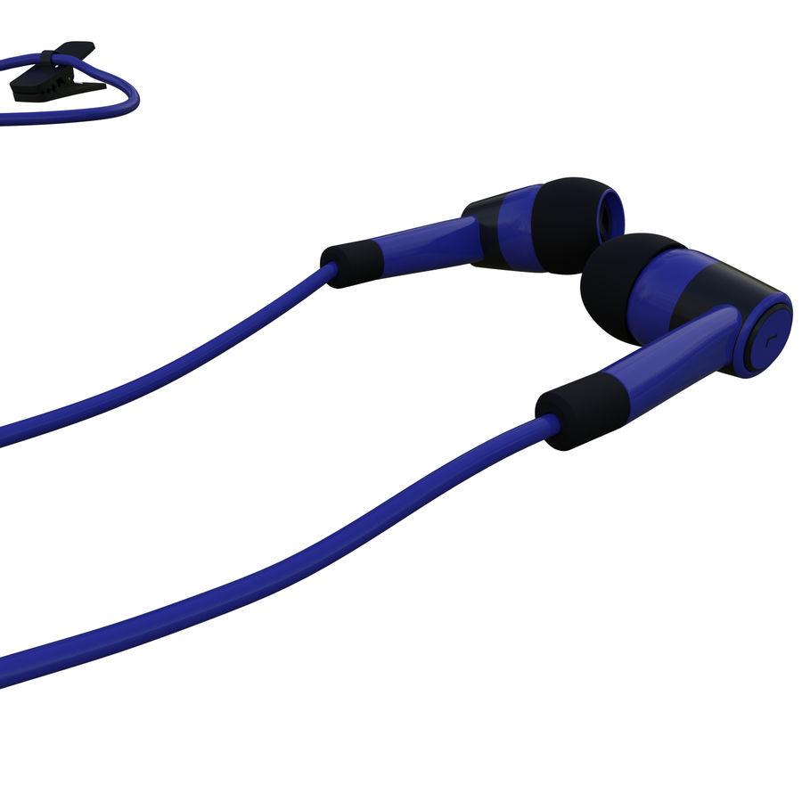 Słuchawki - słuchawki royalty-free 3d model - Preview no. 4
