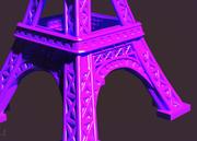 Eiffelturm 3d model