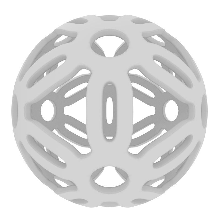 Geometria dekoracyjna dodekaedrowa piłka dekoracyjna royalty-free 3d model - Preview no. 5