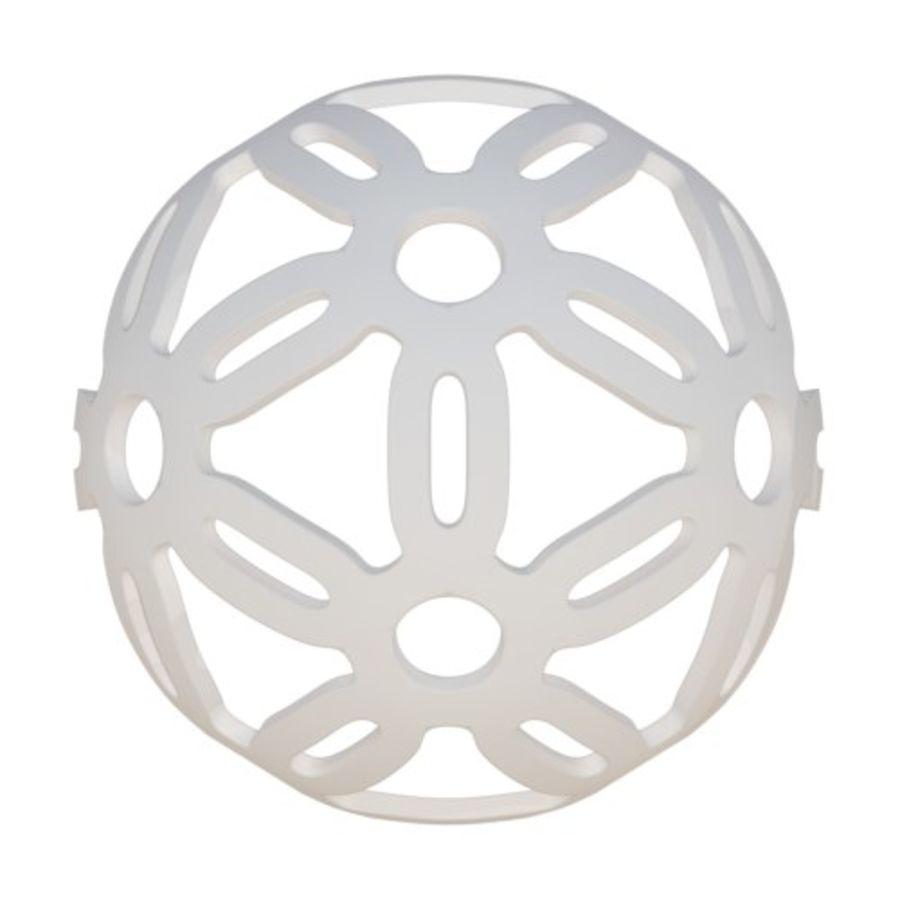 Geometria dekoracyjna dodekaedrowa piłka dekoracyjna royalty-free 3d model - Preview no. 3
