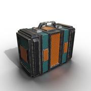 ゲームスーツケース 3d model
