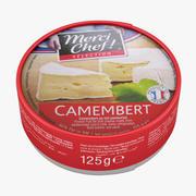 Camembert Cheese 3d model