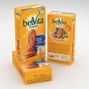 Mondelez Belvita Desayuno Leche y Cereales Paquete de 300 g de caja modelo 3d
