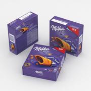 Mondelez Milka Crunchy Break 5x26g 130g Box 2019 3d model