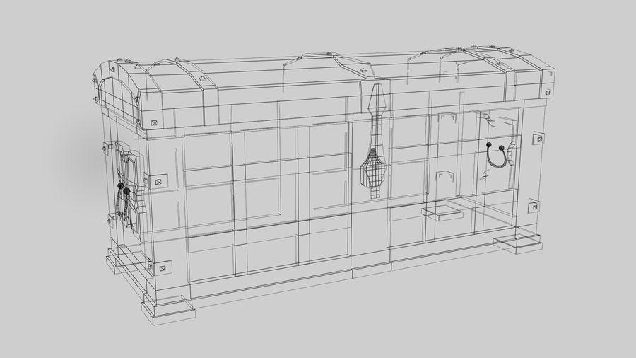 коробка royalty-free 3d model - Preview no. 8