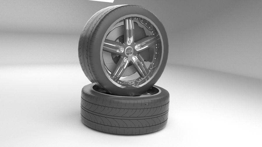 Custom rim royalty-free 3d model - Preview no. 1