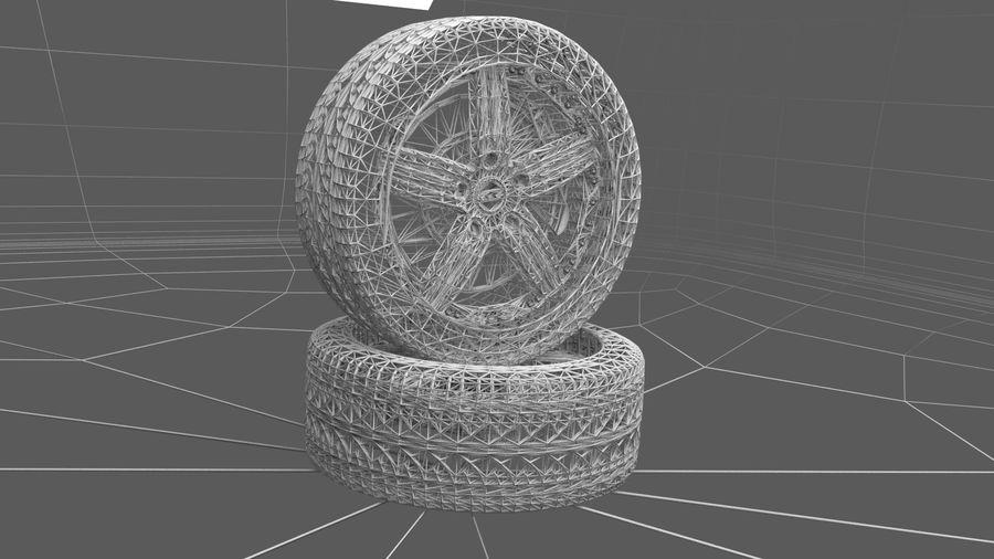 Custom rim royalty-free 3d model - Preview no. 6