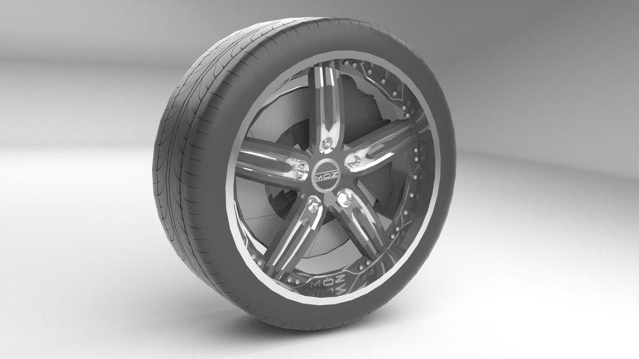 Custom rim royalty-free 3d model - Preview no. 2
