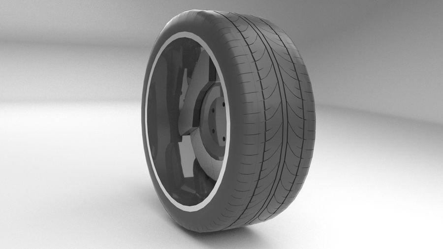 Custom rim royalty-free 3d model - Preview no. 3