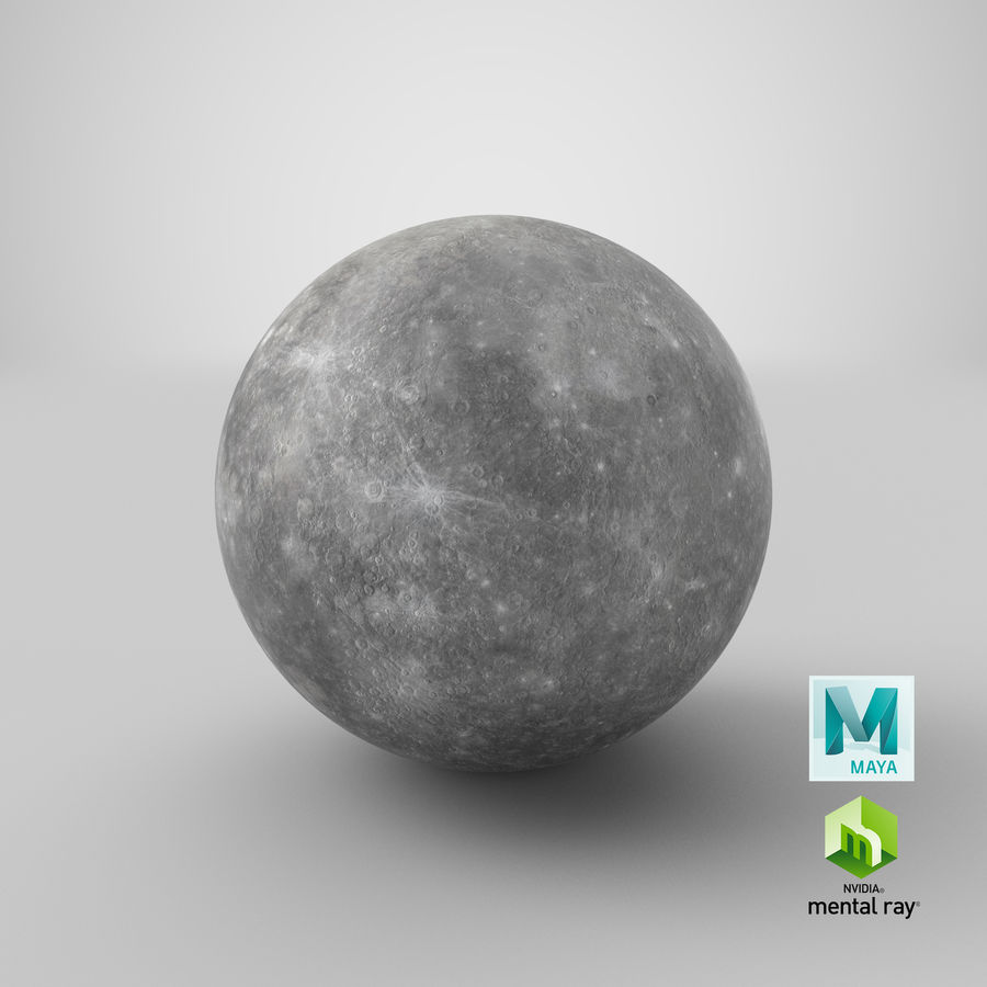 Mercury royalty-free 3d model - Preview no. 14