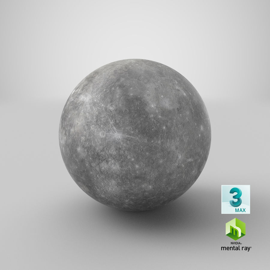 Mercury royalty-free 3d model - Preview no. 16