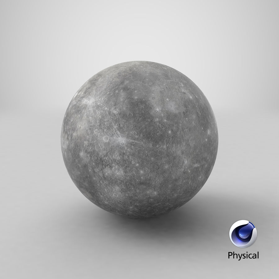 Mercury royalty-free 3d model - Preview no. 17